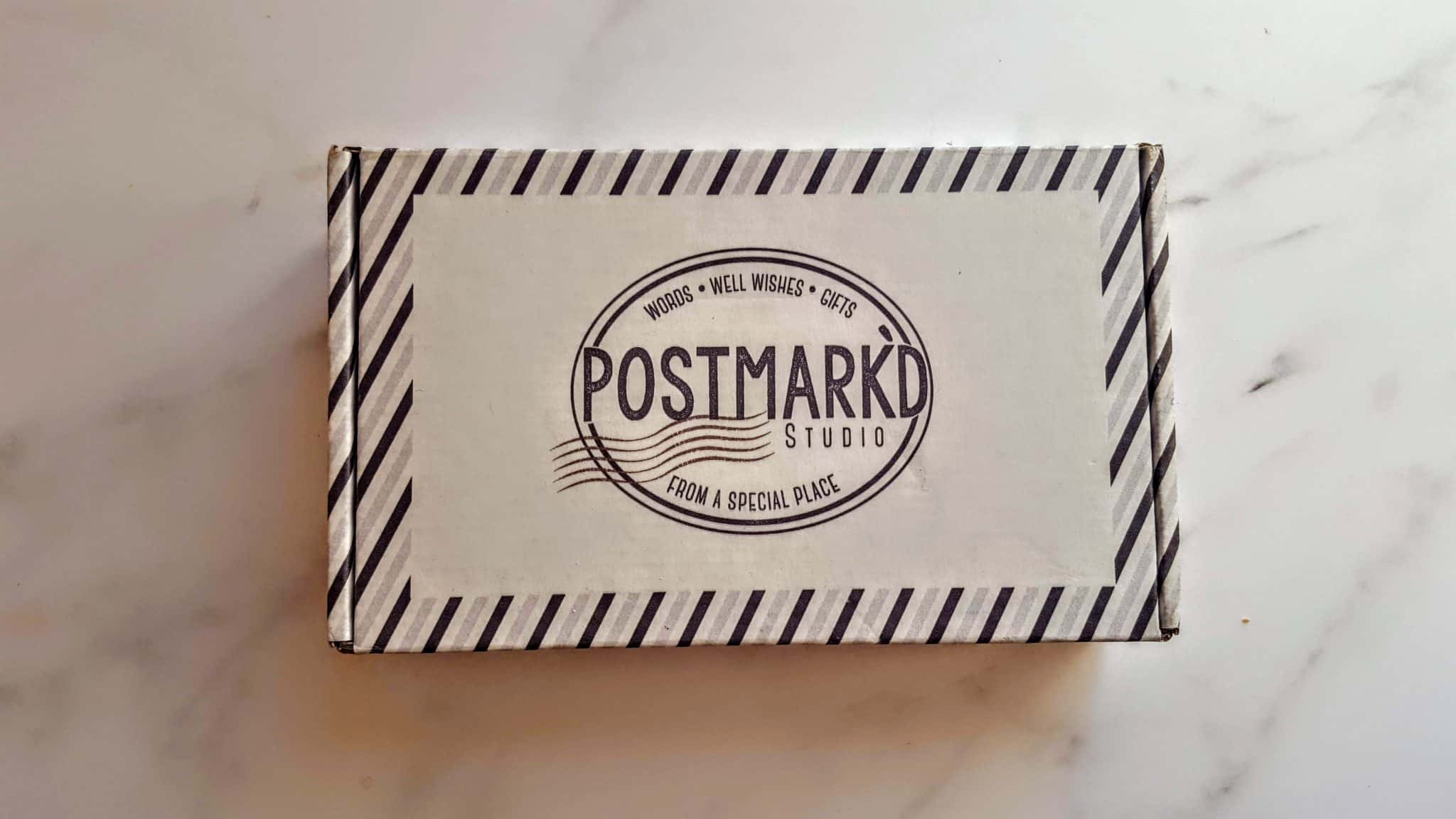 Postmark'd Studio Subscription Box Review + Unboxing | November 2018