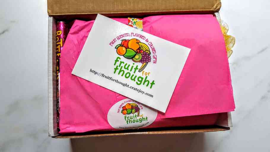 first look in the fruit for thought box