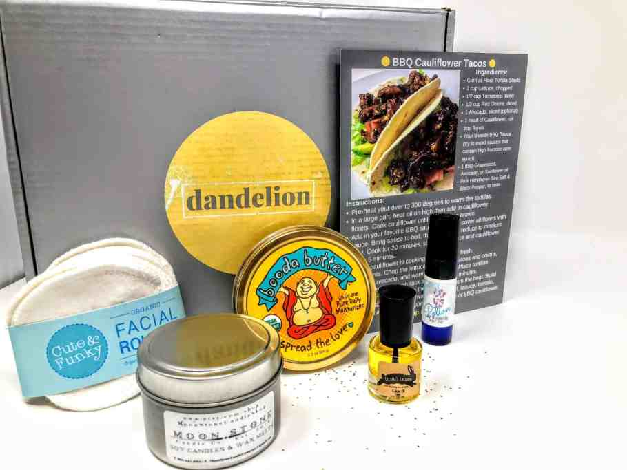 what's in the dandelion box