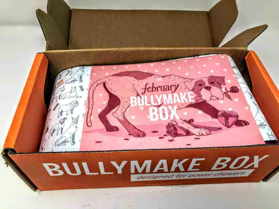 first look in bullymake box