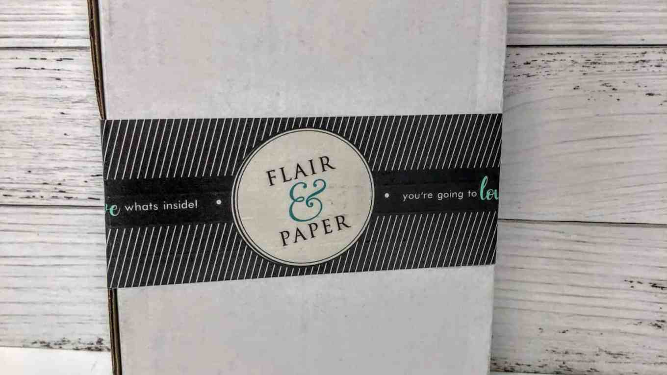 flair & paper march review