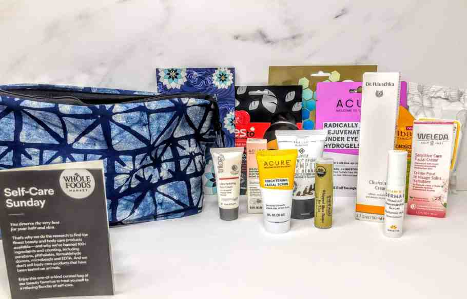 what's in the whole foods beauty bag
