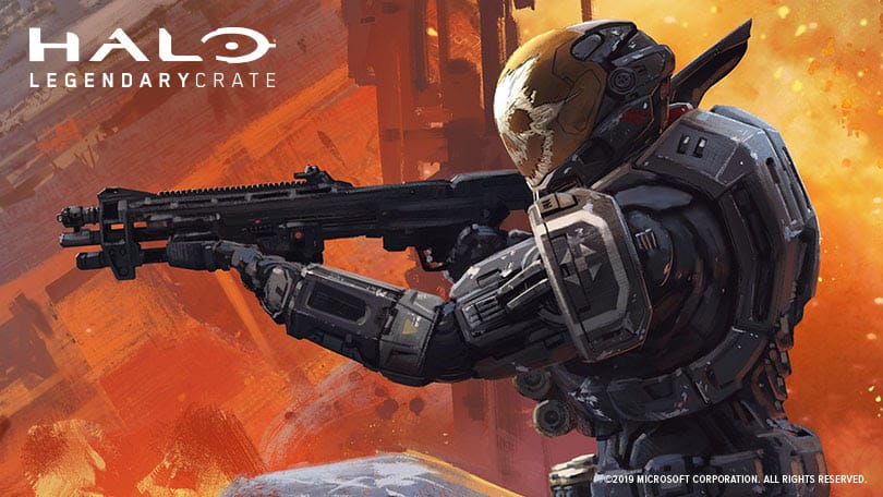 Halo Legendary Crate April 2019 Theme Reveal & Coupon
