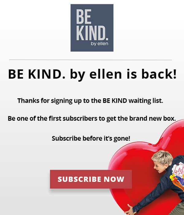 Be Kind by Ellen Summer 2019 Subscription Box Full Spoilers