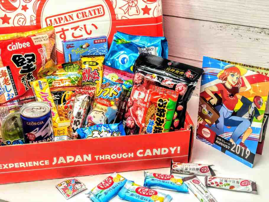 japanese snack boxes