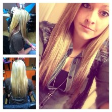 megan mitchell - platinum hair design - New Castle - Indiana - hair salon - blonde and red
