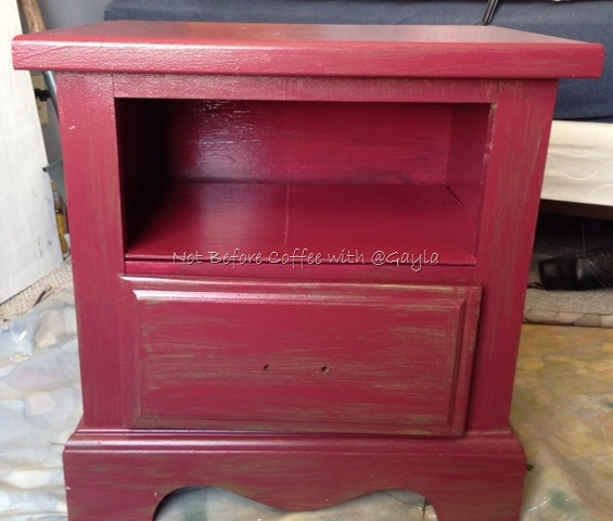 Pinterest Inspired – Upcycled and Repurposed Nightstands