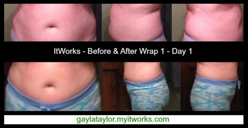 Before and After 1 Wrap - Day 1