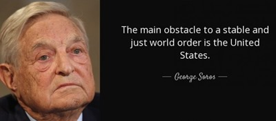 soros main obstacle united states