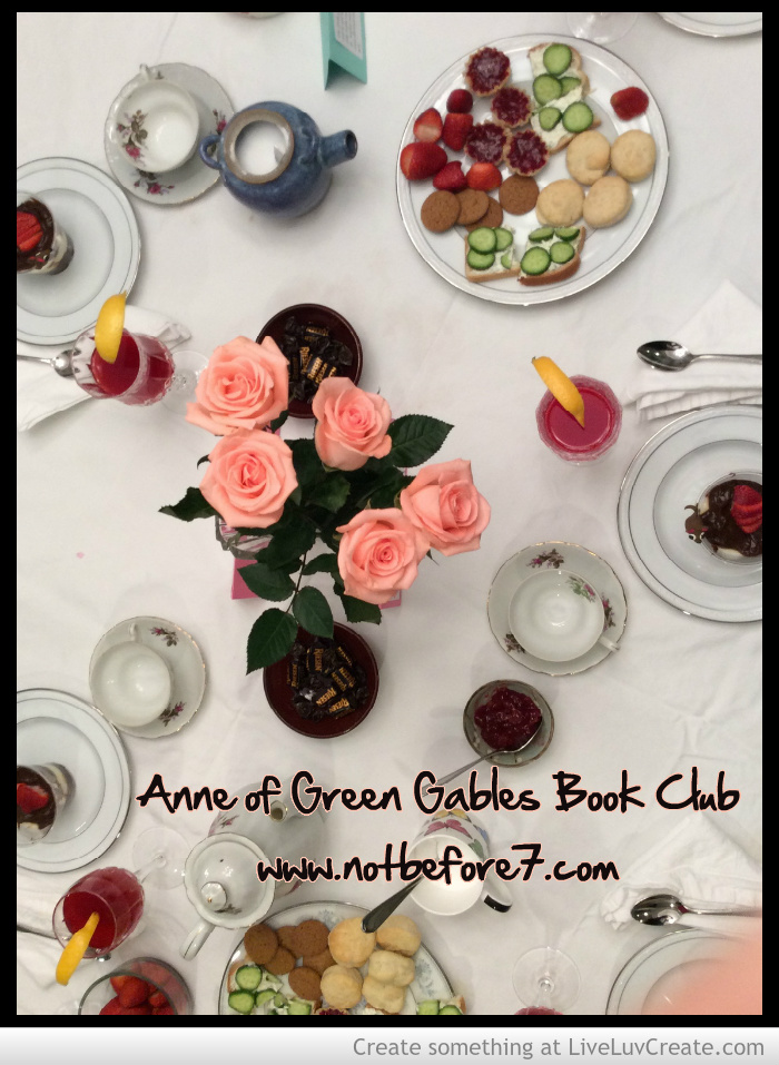Book club archives not before 7 book club anne of green gables forumfinder Images