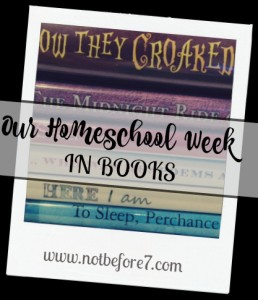 homeschool week books