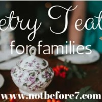 Poetry Teatime for Families