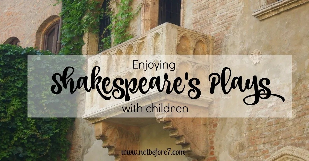 Reading Shakespeare's Plays with my Kids