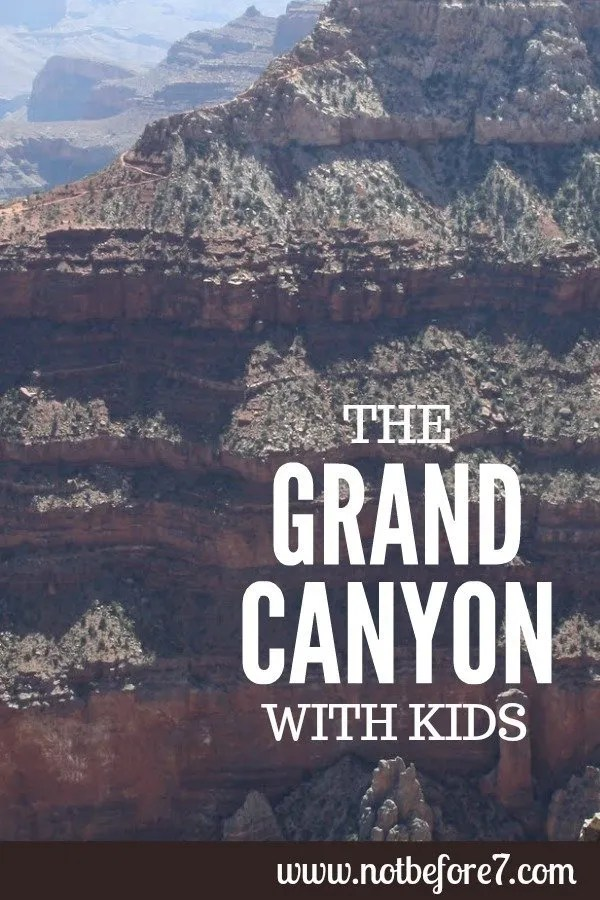 Visit the Grand Canyon with Kids.