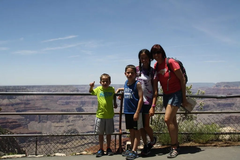 The Grand Canyon with Kids