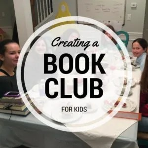 How to create a book club for your kids!