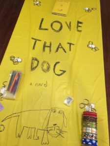Our Love that Dog book club was a huge hit! Find ideas for activities, food, and fun.
