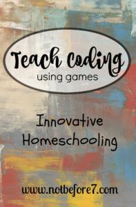 Teach Coding Using Games