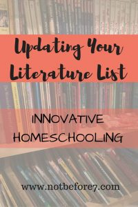 Updating Your Literature List