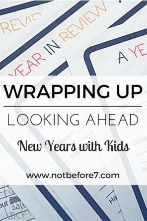 "Click here for a free ""Year in Review"" PDF to use with your kids. Perfect for the new year!"