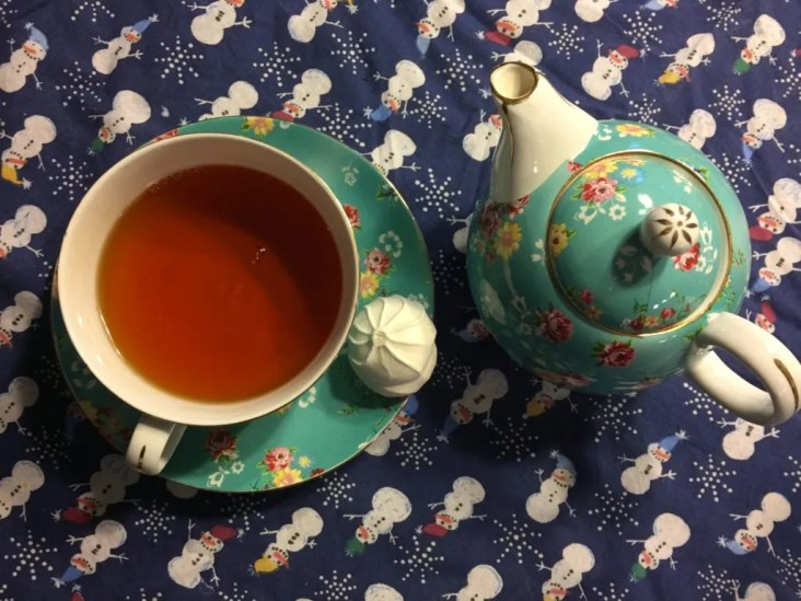 Our Winter Poetry Teatime.
