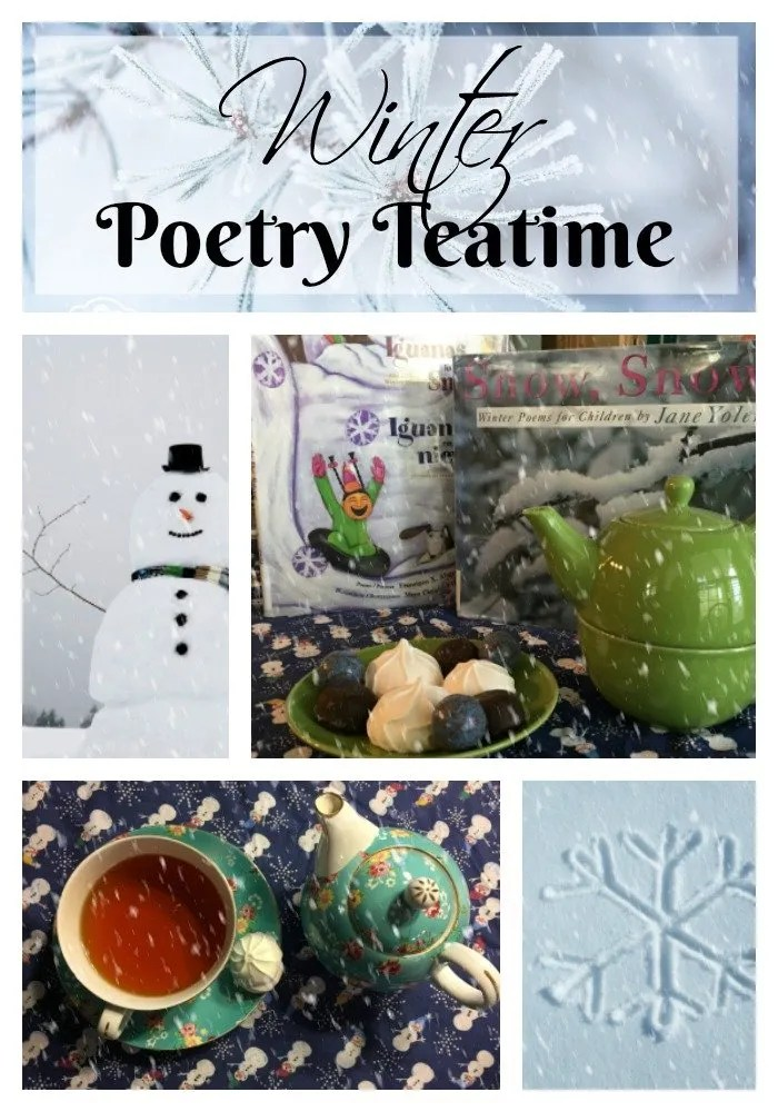 Host a Winter Poetry Teatime
