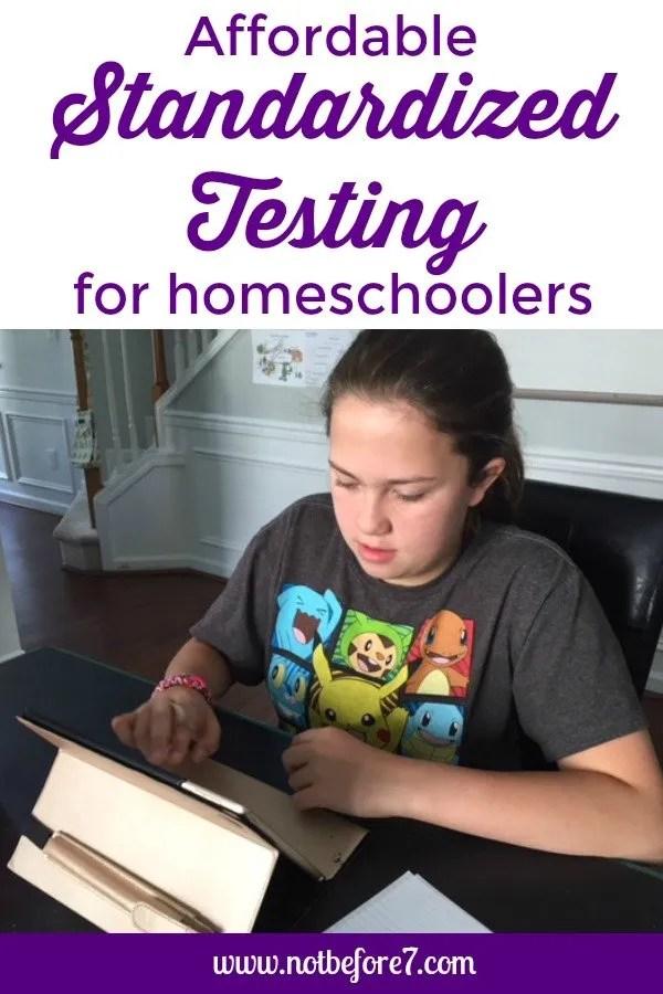 MAPS Standardized Testing for Homeschoolers