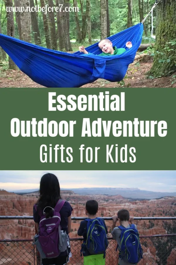 A list of Essential Outdoor Adventure Gifts for Kids