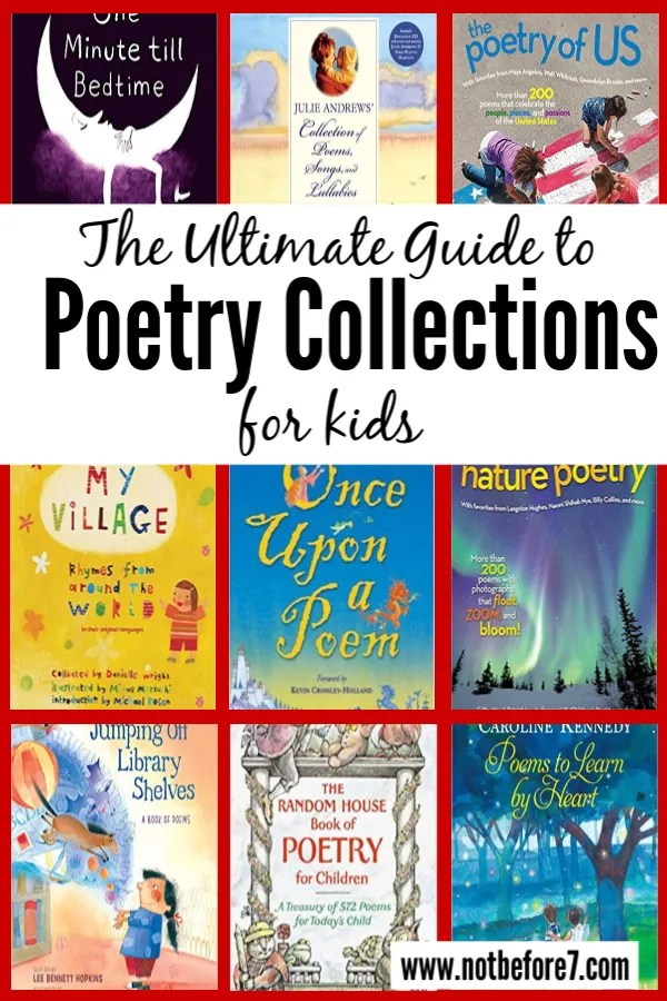 The Ultimate Guide to Poetry Collections for Kids