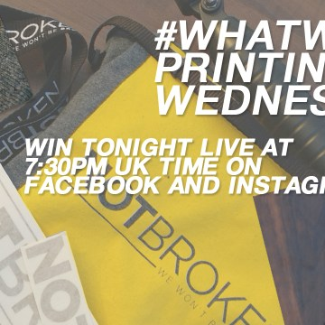 #whatweprintingwednesday Giveaway / Win NotBroken & Joby products!