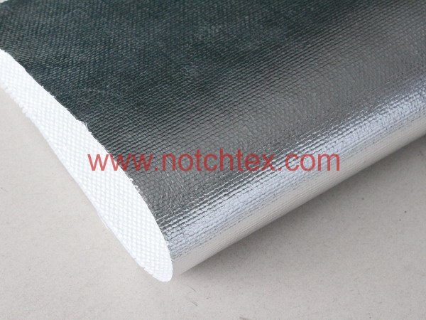 Aluminized fabric aluminium foil coated fabric  Notchtex