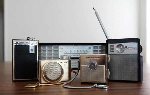 Retro Transistor Radios