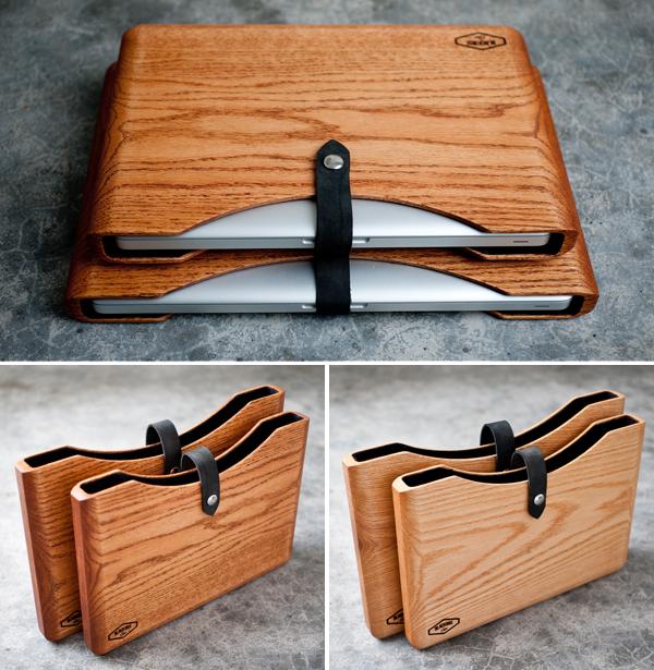 Blackbox- wooden mackbook case