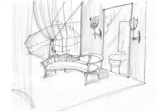 Mondrian Soho Sketches (NOTCOT)
