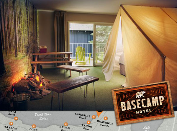 Basecamp Hotel  South Lake Tahoe NOTCOT