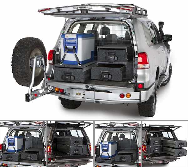 NOTFZJ80 ARB Outback Solutions Drawers NOTCOT