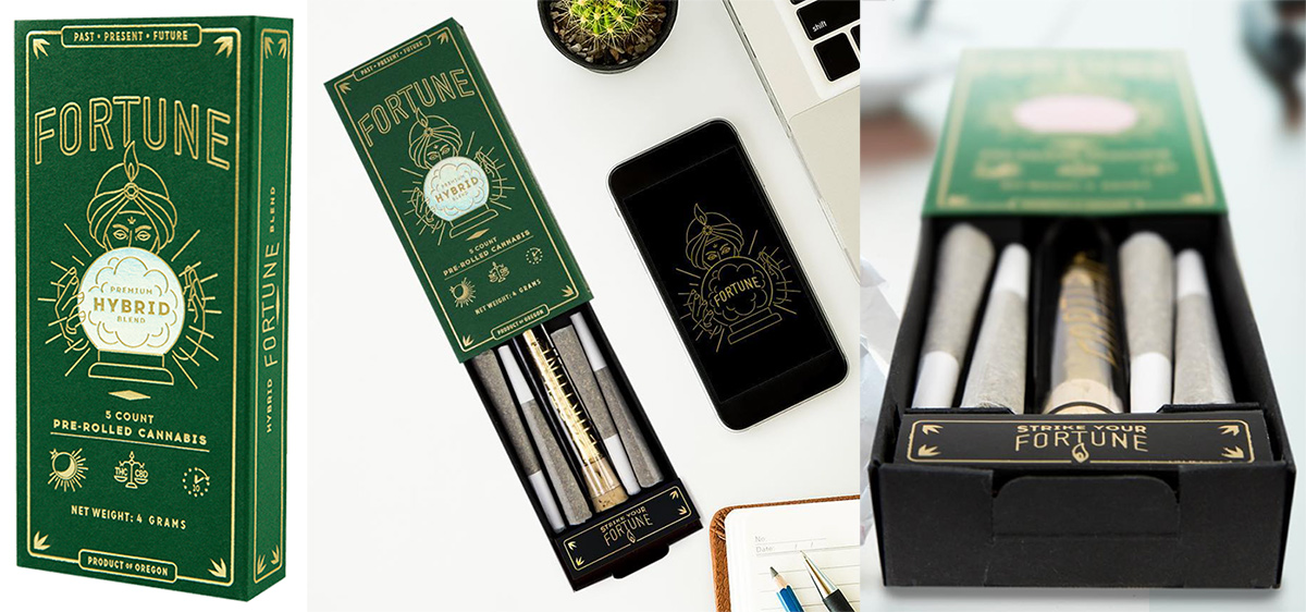 Cannabis Packaging Branding Design NOTCOT