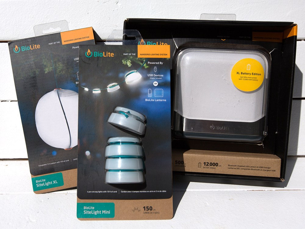 medium resolution of here s the sitelight mini the sitelight xl and the base lantern xl