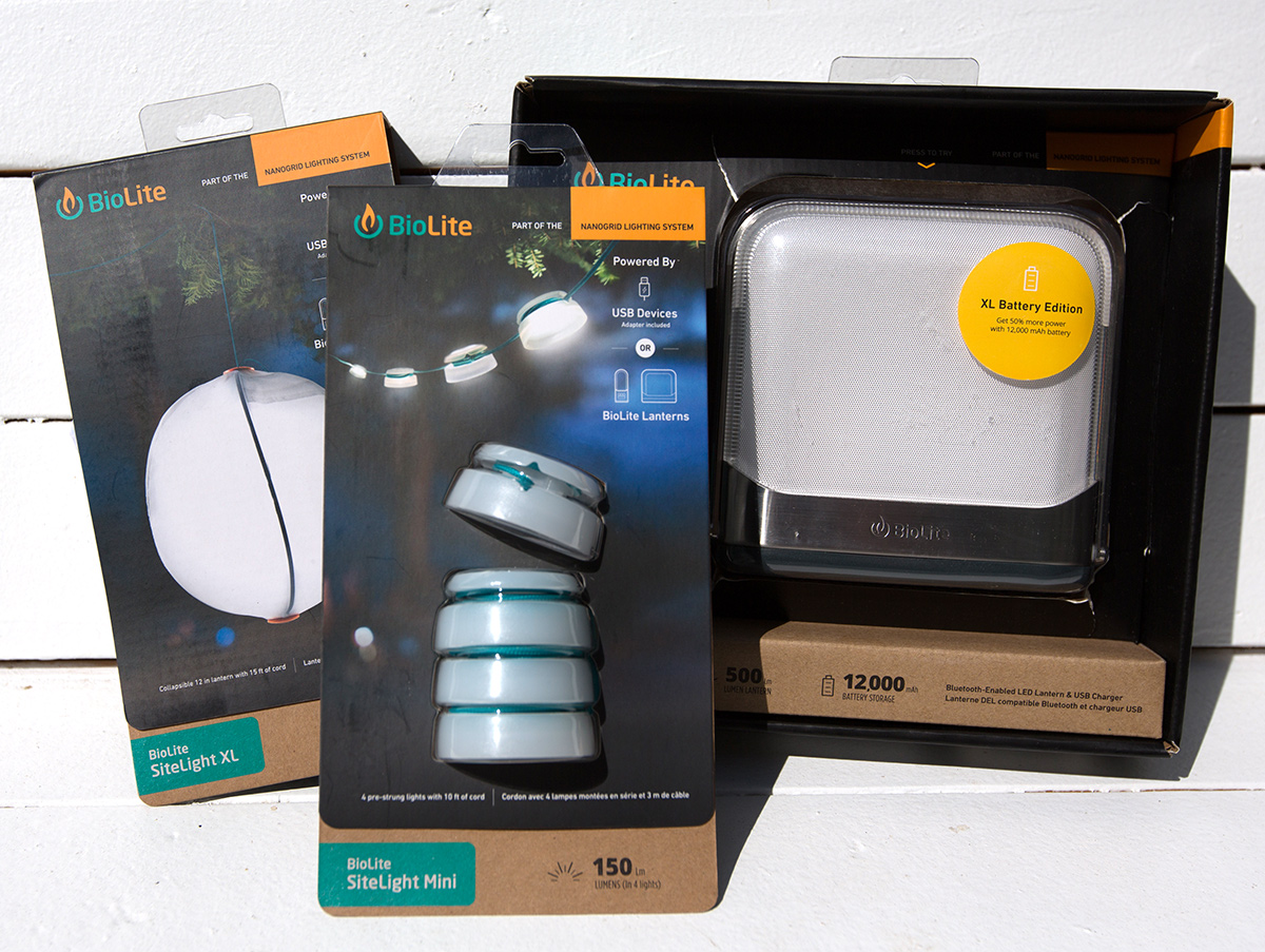 hight resolution of here s the sitelight mini the sitelight xl and the base lantern xl