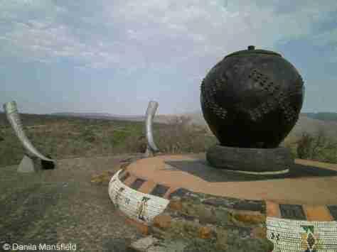 Zulu monument