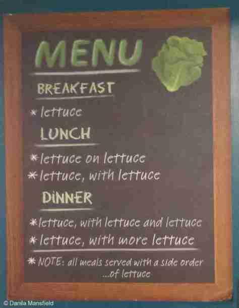 Dugong menu