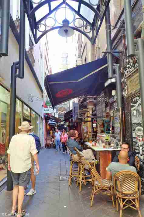 The Lanes in Melbourne