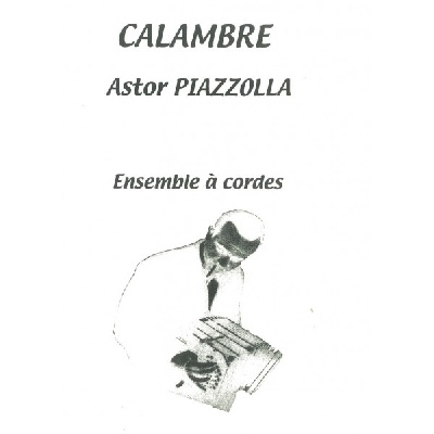 Astor Piazzolla sheet music books scores (buy online).