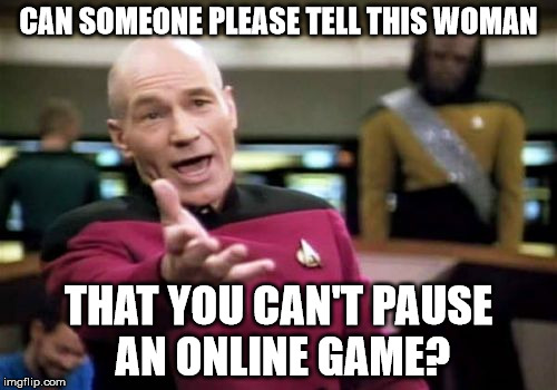 online játék pause
