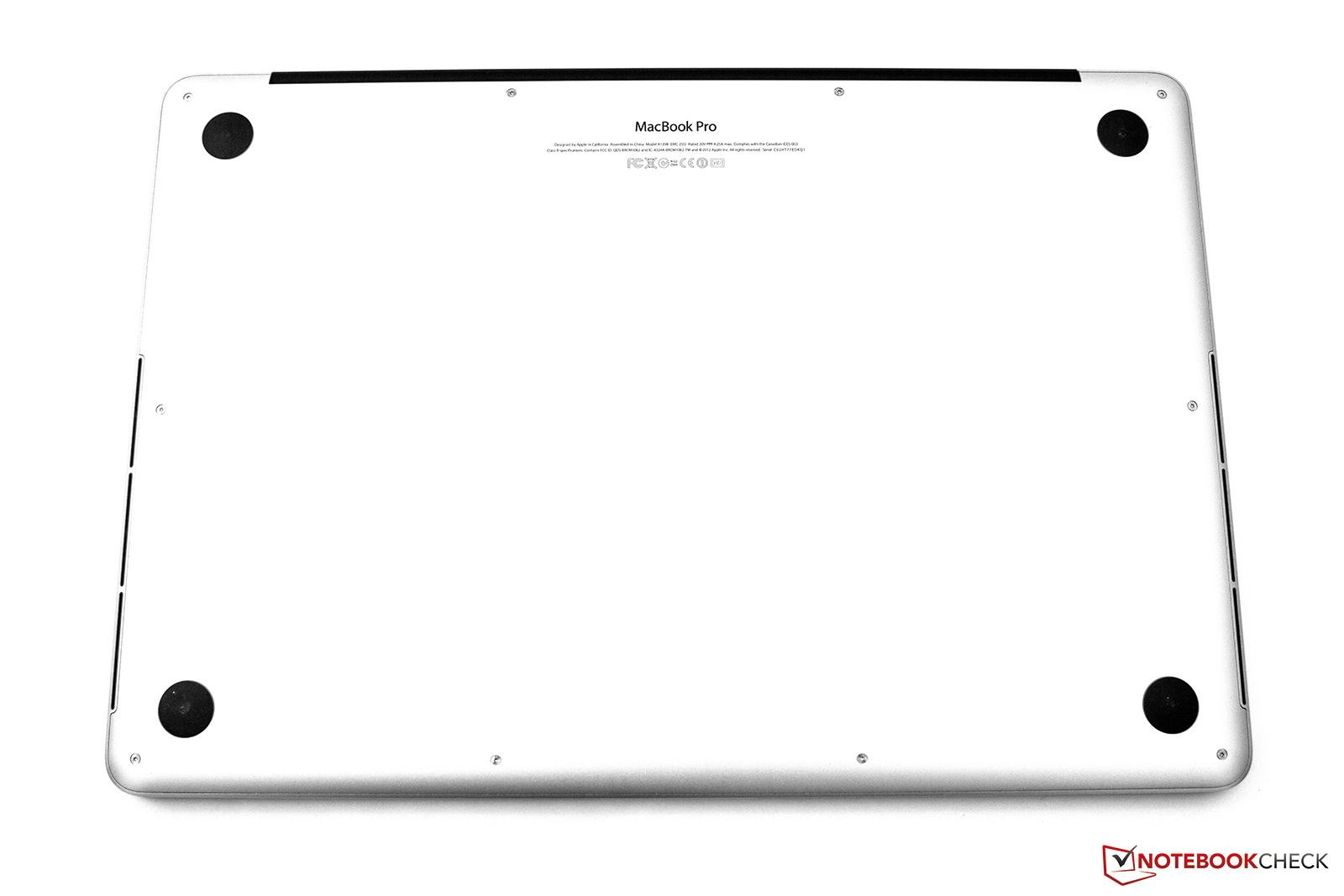 Обзор Apple MacBook Pro 15 Retina 2.3 GHz Mid 2012