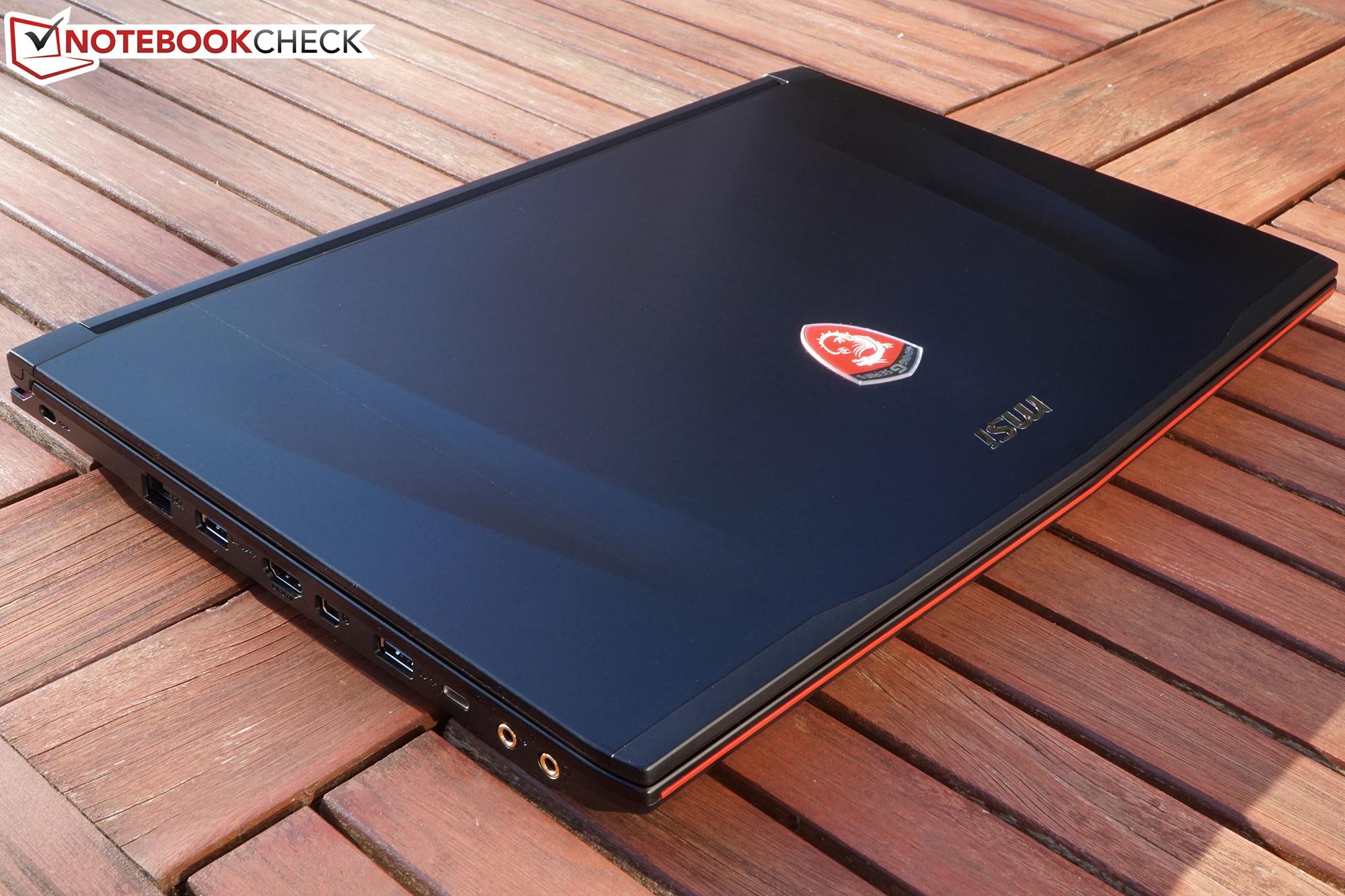 Courte critique du PC portable MSI GE62 6QD Apache Pro - Notebookcheck.fr