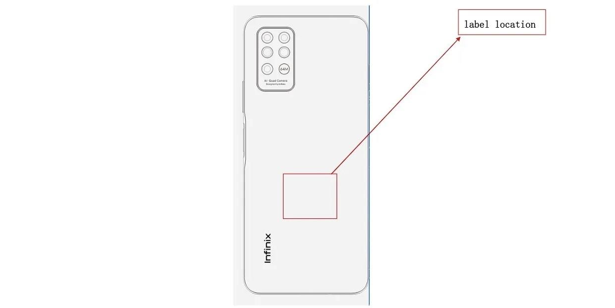 L'Infinix Note 8 dispose de quatre caméras et d'une