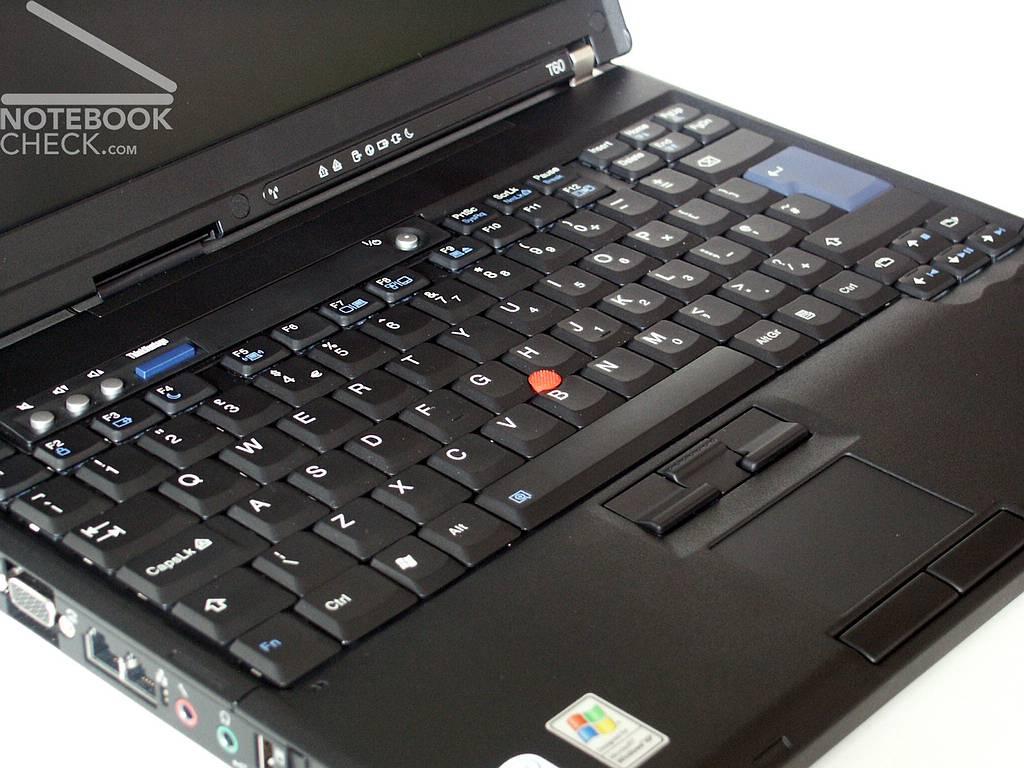 Lenovo IBM Thinkpad T60p Externe Tests
