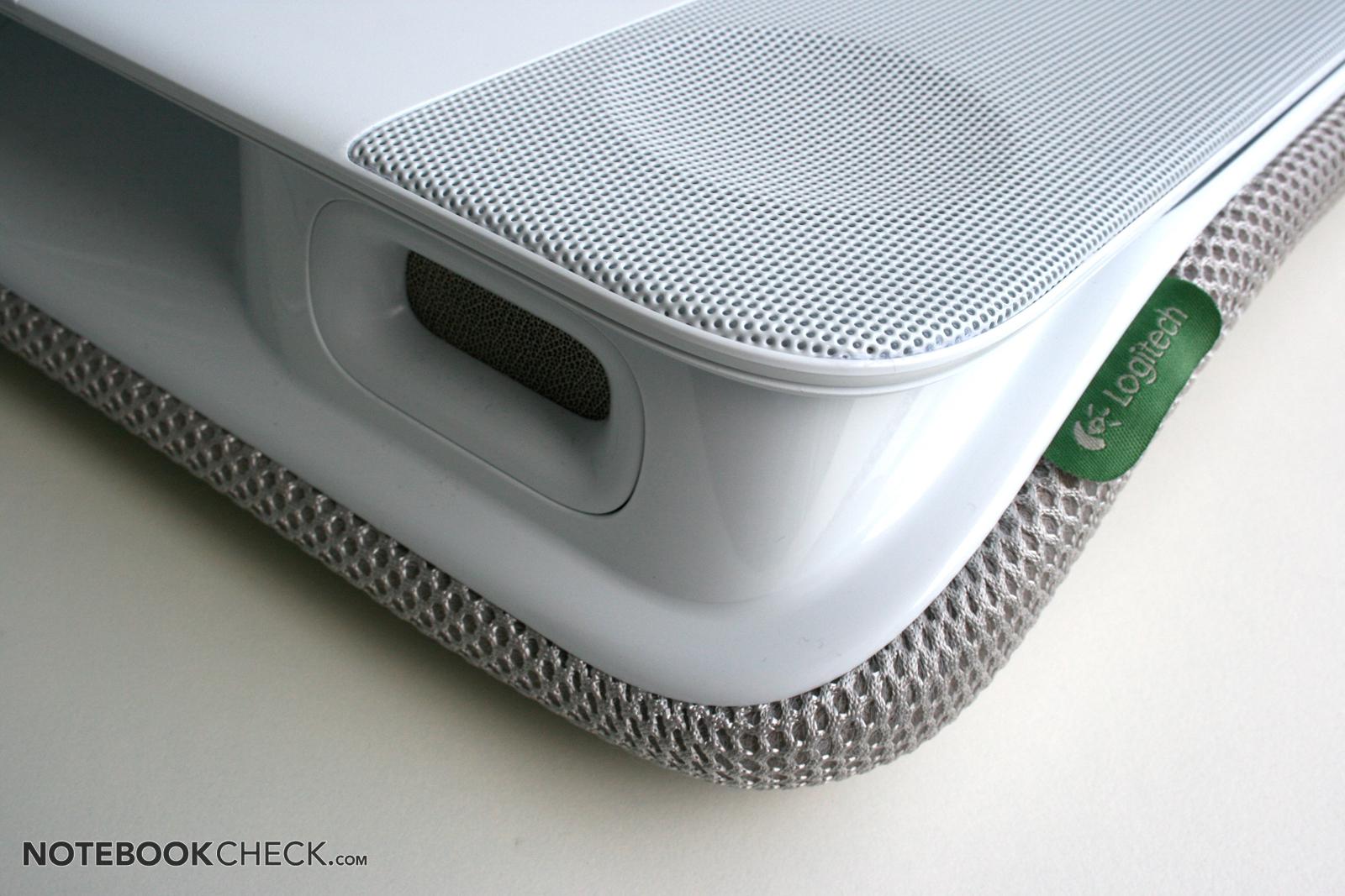 Test Logitech Speaker Lapdesk N700  Notebookcheckcom