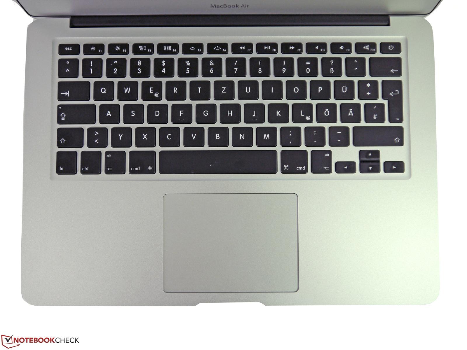 Macbook Pro Laptop Keyboard Layout Diagram